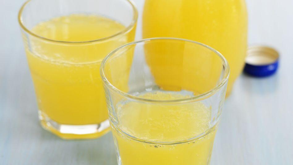 Orangenlimonade: Schon ein Glas am Tag kann Diabetesrisiko erhöhen