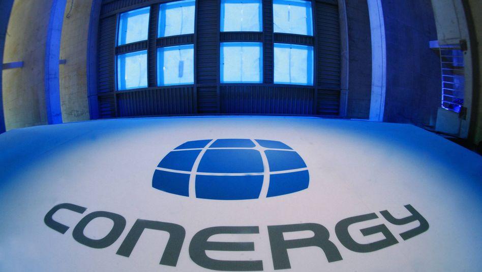 Conergy-Logo: Papiere weniger als einen Euro wert