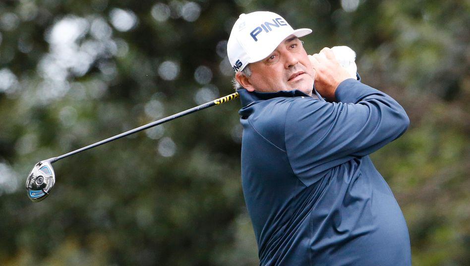 Ángel Cabrera 2016 beim Masters in Augusta