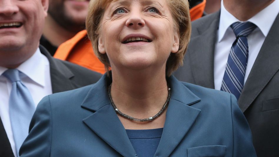 A new poll suggests Germans are largely happy with their government under Angela Merkel.