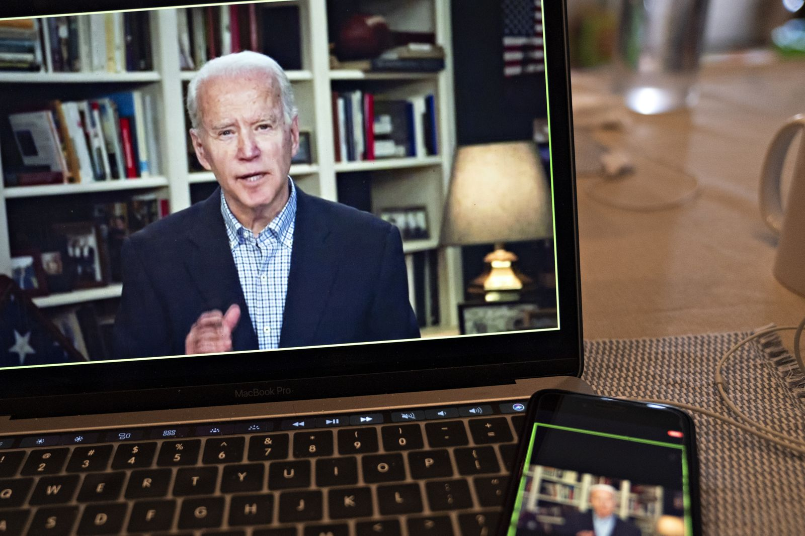 2020 Democratic Presidential Candidate Joe Biden Hosts Virtual Press Briefing