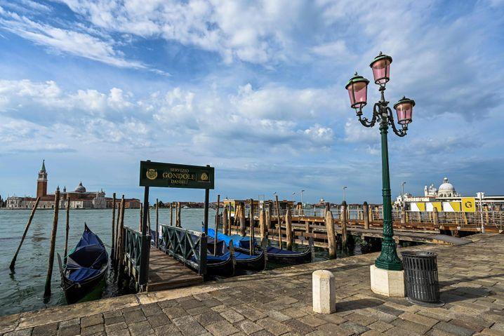Ungewohnter Anblick: Venedig ohne Menschen. Was malerisch wirkt, ist für Italien ein großes Problem: Das Land ist auf Touristen angewiesen