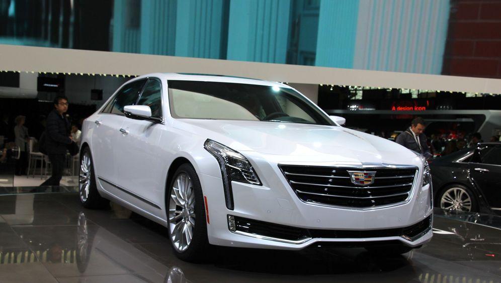 Premieren von Cadillac und Lincoln: Bling is back