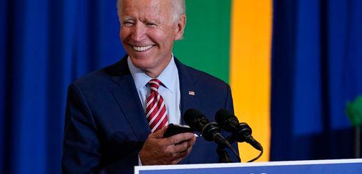 Joe Biden hat einen neuen Twitteraccount