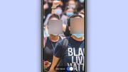 Chat-App verpixelt mit einem Klick Gesichter