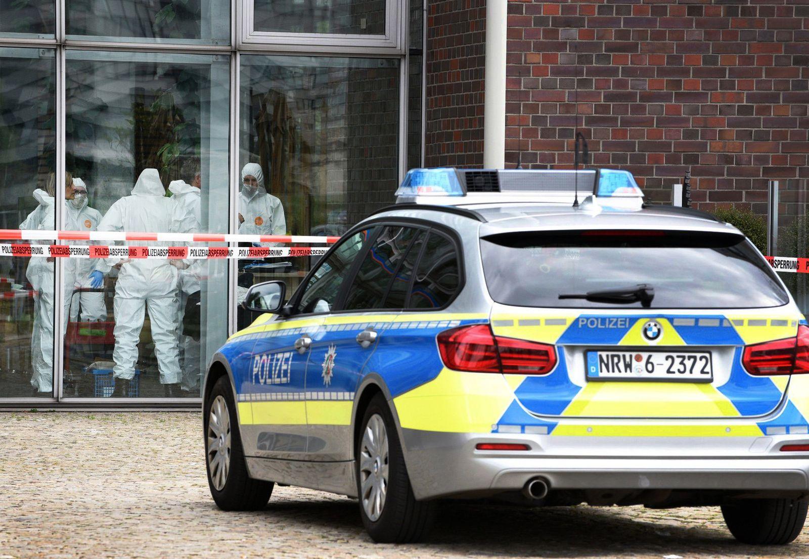 Leiche in Duisburger Cafe entdeckt
