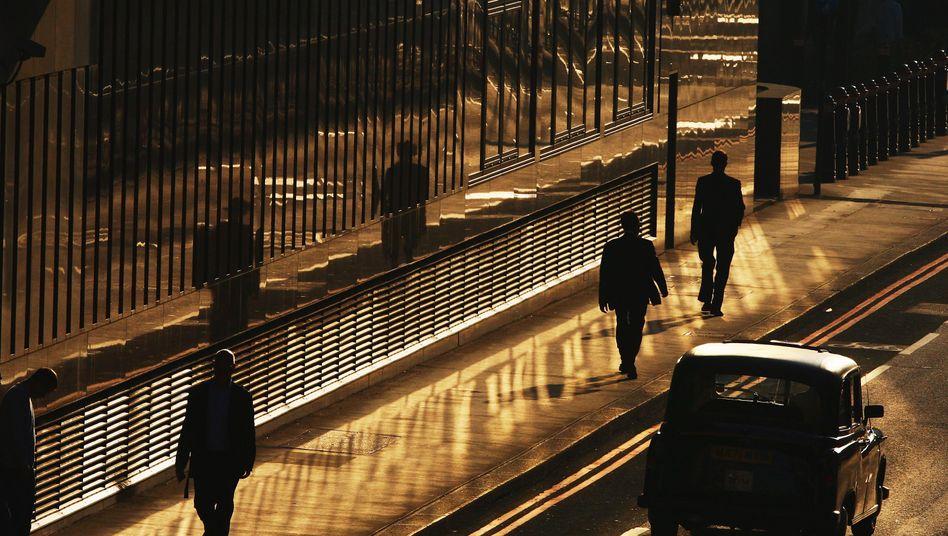 Londoner Bankenviertel: Die Welt der Händler ist sehr stark auf Geld fokussiert