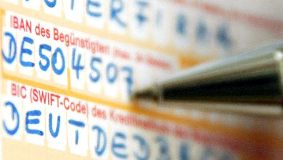 IBAN und BIC: Die Swift-Codes bereiten offenbar vor allem älteren Menschen Probleme