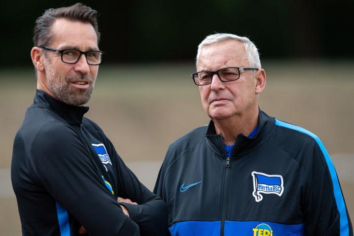 Sie vor allem sind die Zielscheiben von Klinsmanns Kritik: Manager Michael Preetz und Präsident Werner Gegenbauer