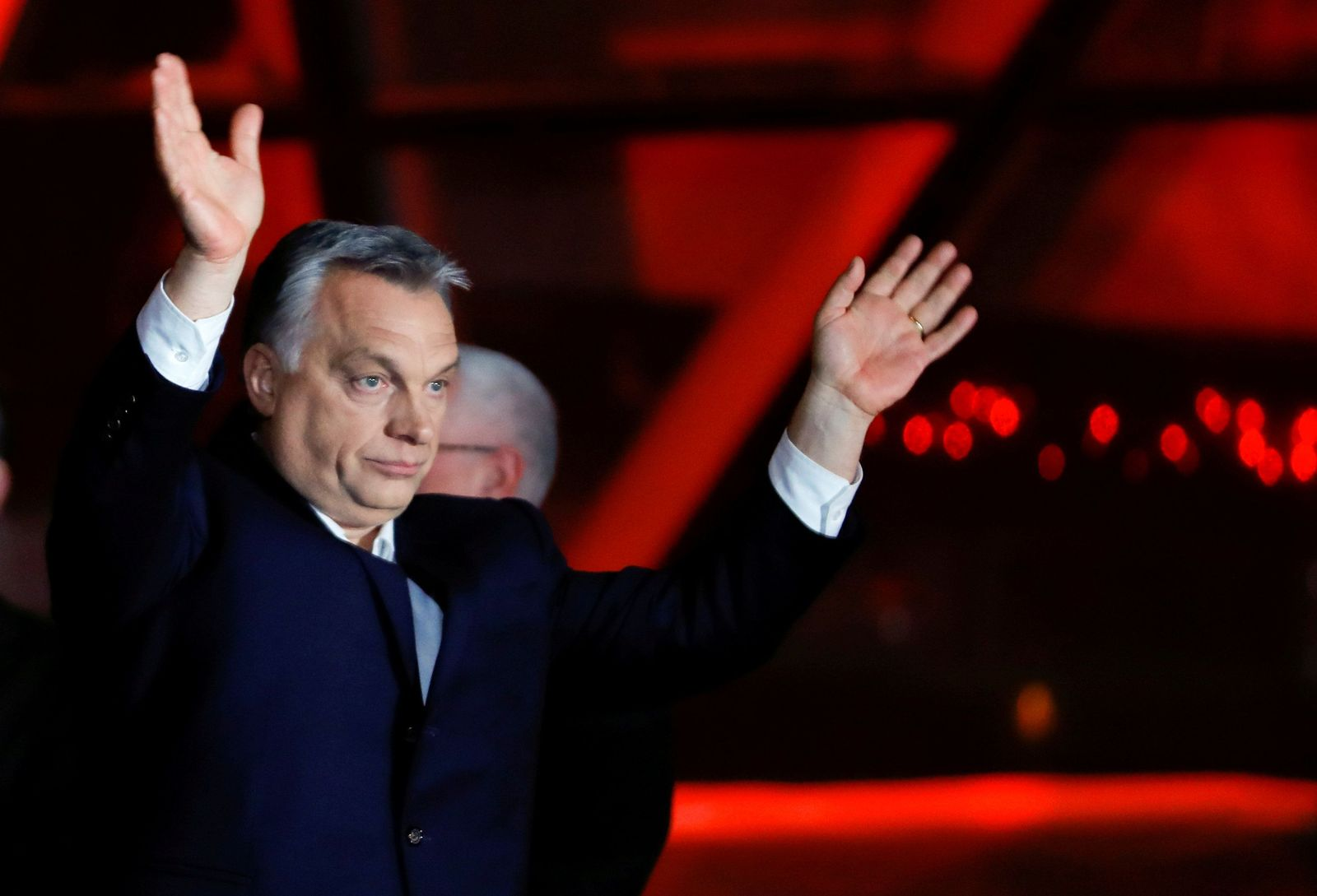 HUNGARY-ELECTION/SUPPORTERS-ORBAN