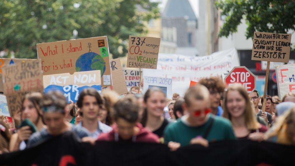 Klima-Demo in Köln