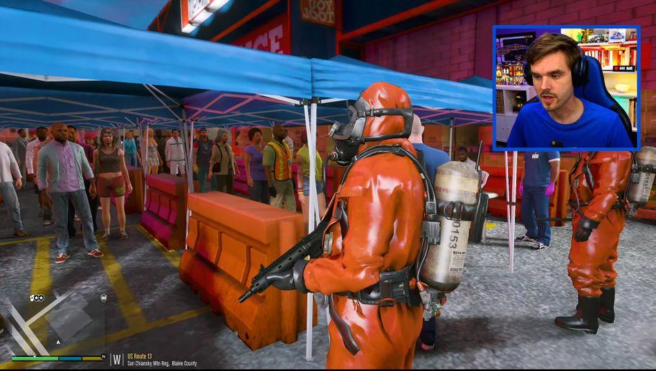 """Rollenspiel in """"GTA Online"""": Corona-Alarm in Los Santos"""