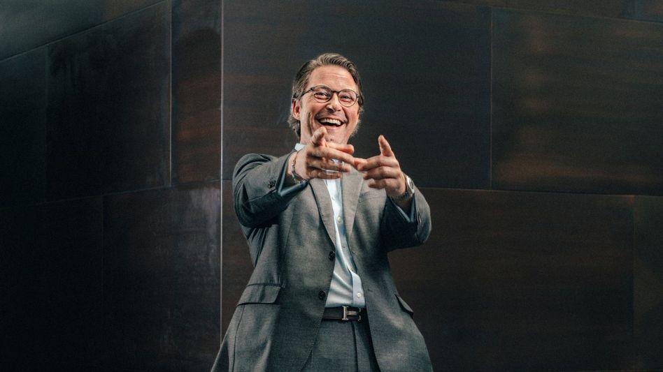 Ressortchef Scheuer: »Ich hab Bock auf den Job«