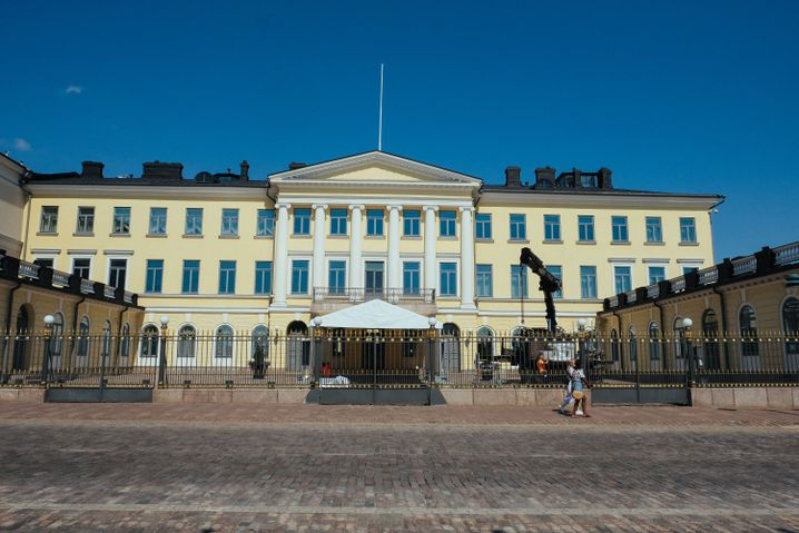 Präsidentenpalast in Helsinki
