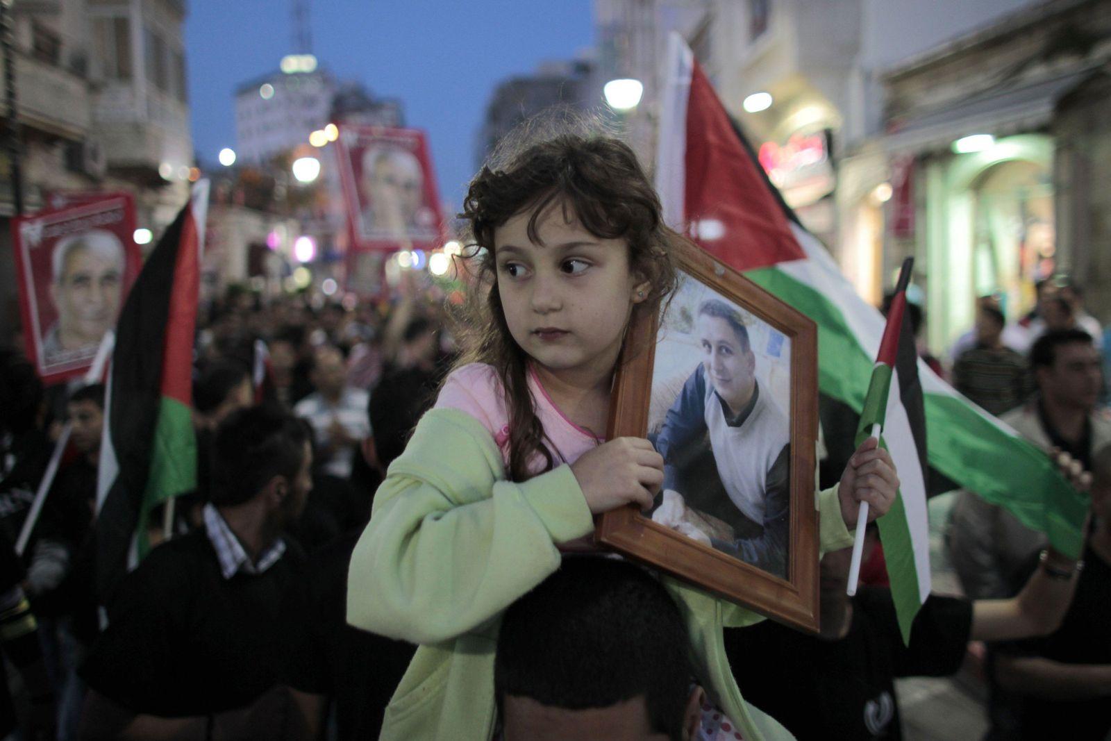 Palästina/Hungerstreik/Ramallah