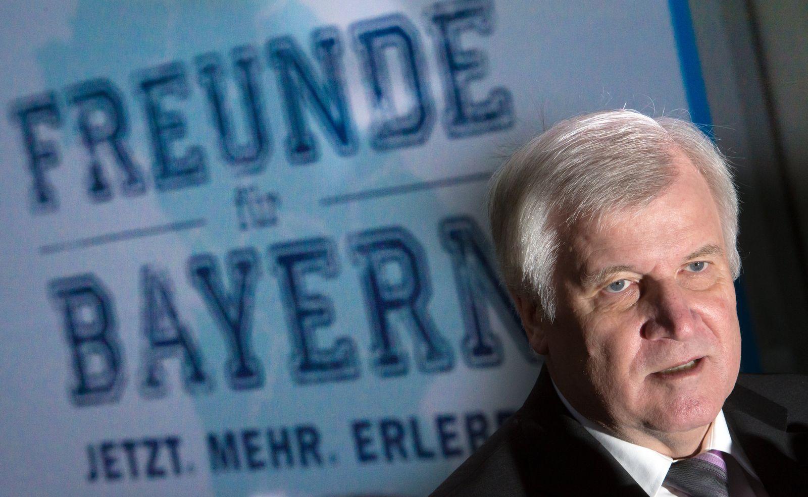 Seehofer/ CSU-Vorstandssitzung