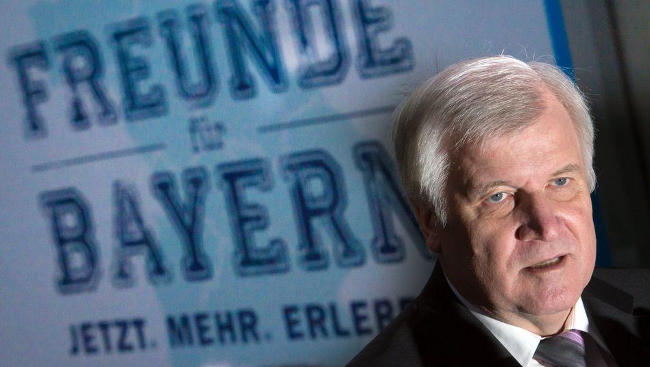CSU-Chef Seehofer: Der Westen müsse zusammenstehen