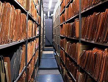 Akten und Fakten: Im Archiv des Ministeriums für Staatssicherheit lagerten Informationen über fast jeden der DDR-Bürger