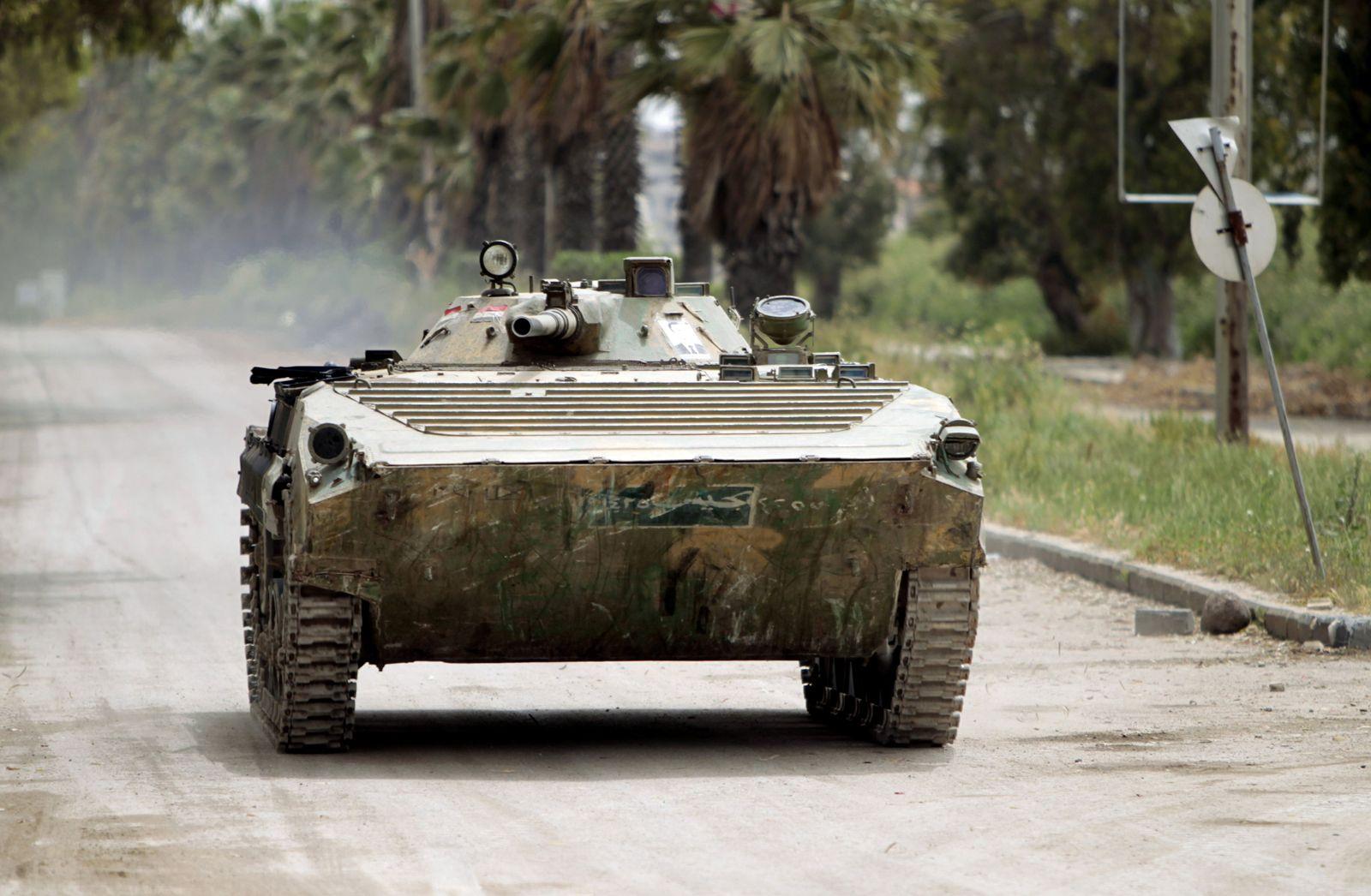 Syrien/ Panzer