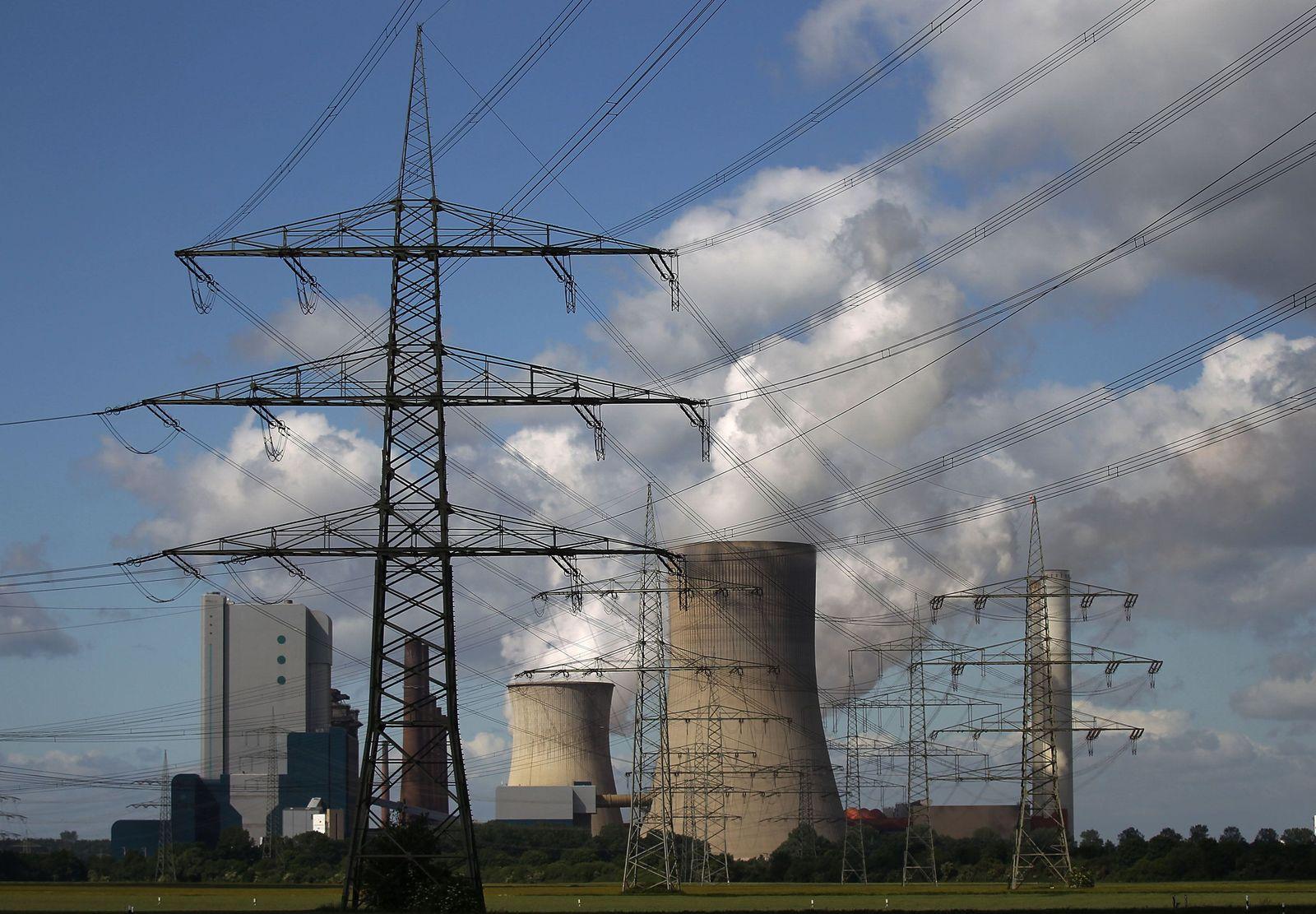 RWE / Kohlekraftwerk / CO2 / Schorsteine