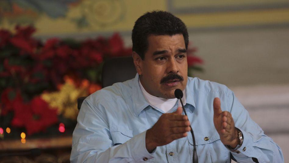 """Venezuelas Präsident Maduro: """"Sie haben einen Krieg geplant"""""""