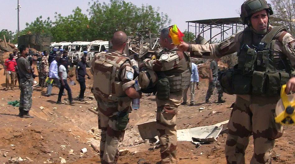 Uno-Soldaten in Gao