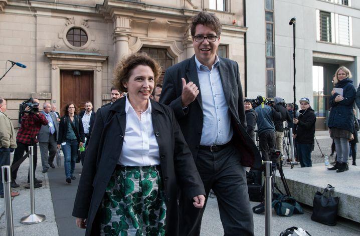 FDP-Politikerin Beer, Grüner Kellner