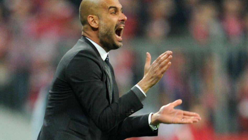 Bayern-Trainer Guardiola: Mit einer B-Elf gegen Leverkusen