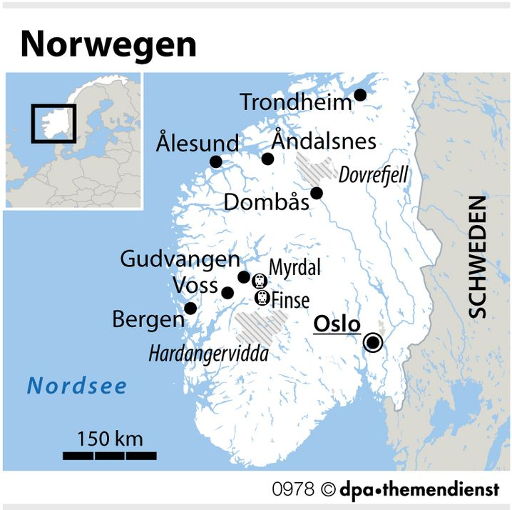 Norwegen per Bahn und Schiff: Ein Tag quer durchs Fjordland