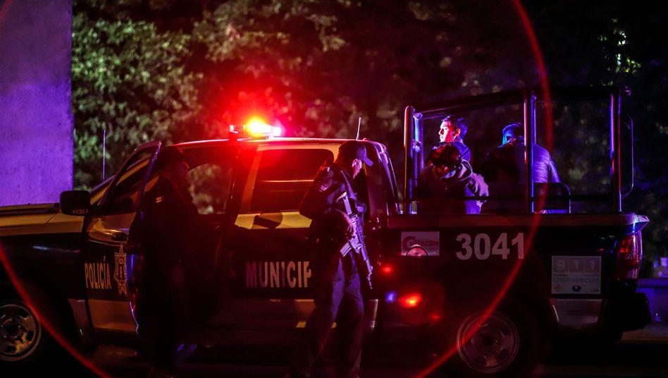 Polizisten im mexikanischen Bundesstaat Sinaloa