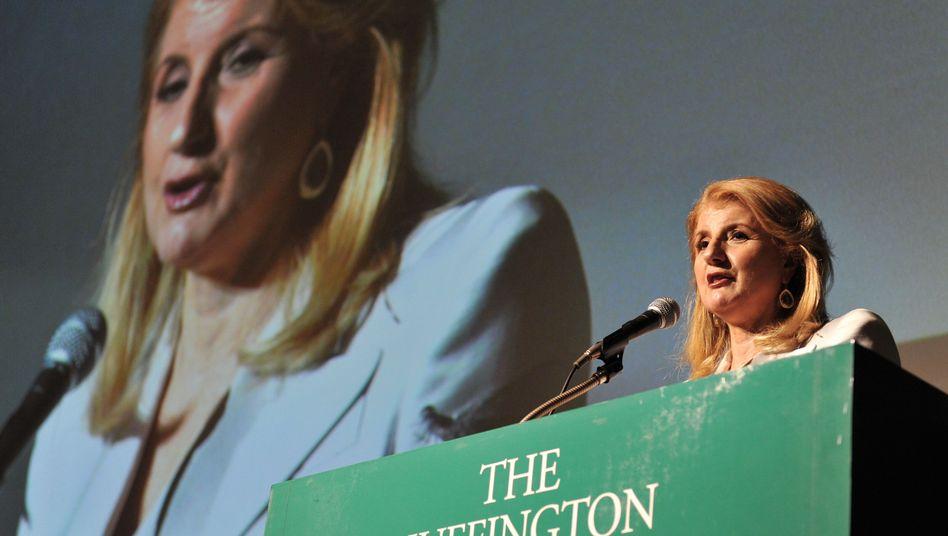 """Huffington Anfang Mai in Tokio: """"Sie wollen, dass wir Sie aggregieren"""""""