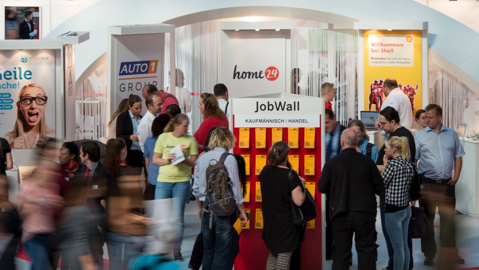 Jobmesse in Berlin