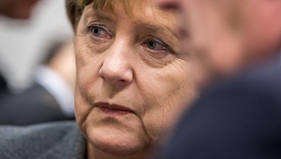 CDU-Chefin Merkel: Keine Zugeständnisse