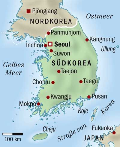 Korea, ein geteiltes Land