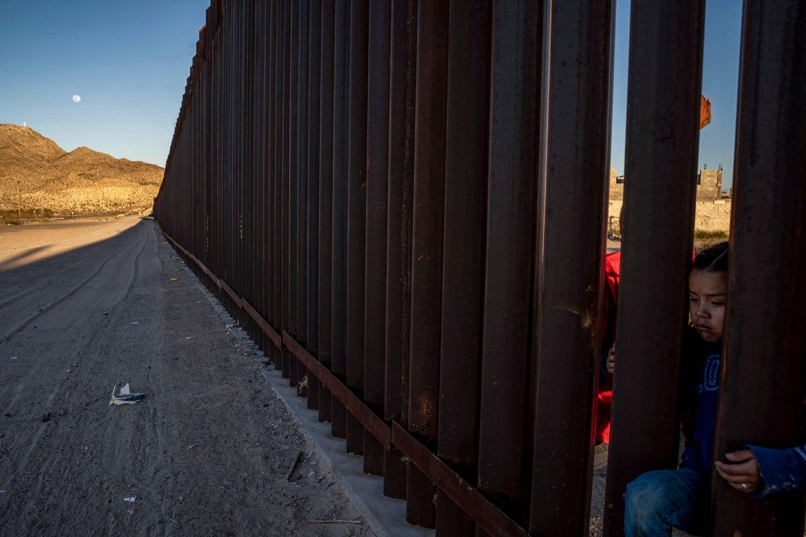 Mexiko, USA, Mauer