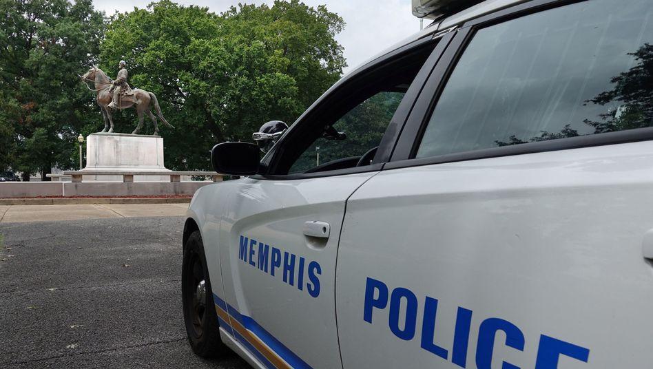 Polizeiwagen in Memphis, Tennessee (Symbolbild)