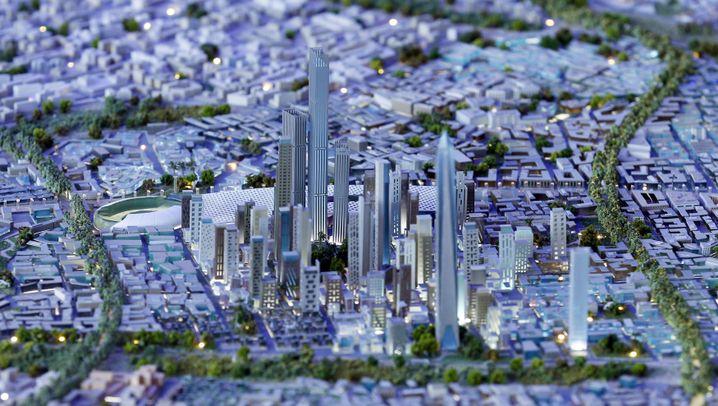 El-Sisi: Der Bauherr