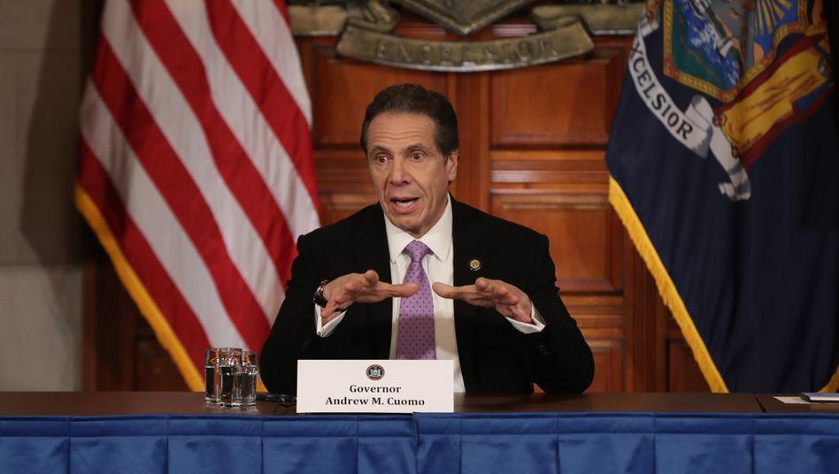 Der Virusbekämpfer: New Yorks Gouverneur Andrew Cuomo