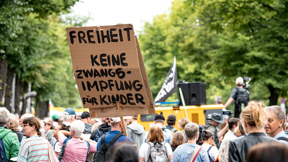 »Querdenker«-Demonstration am Sonntag in Berlin