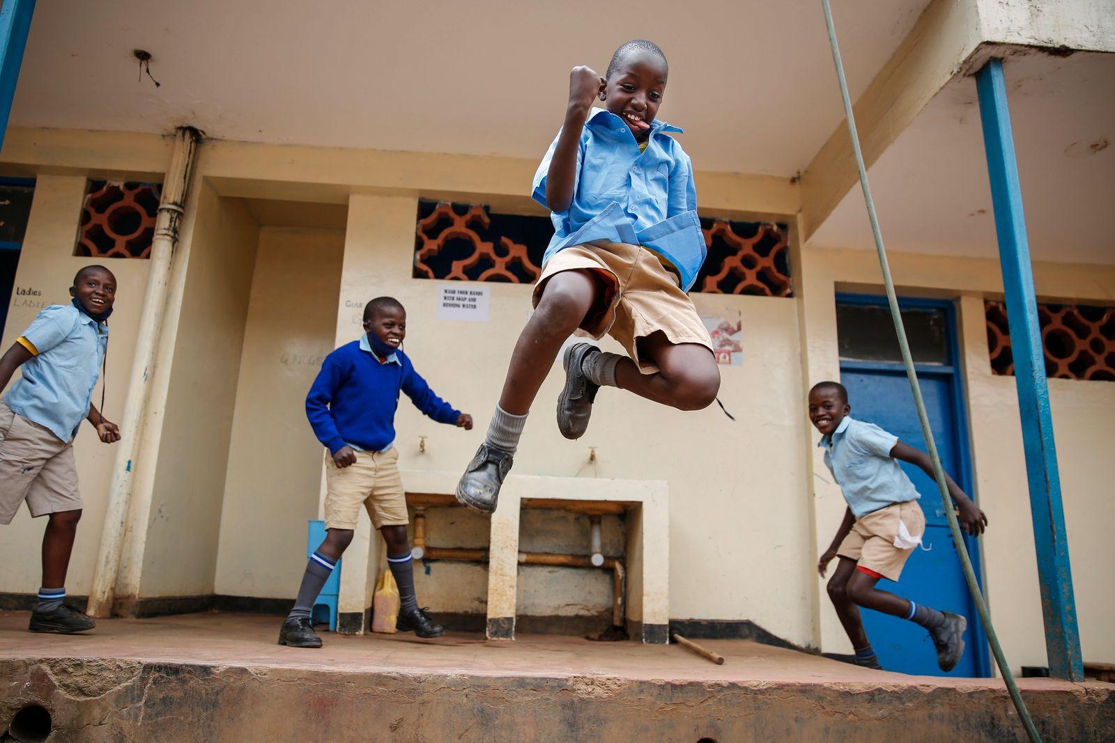 APTOPIX Virus Outbreak Kenya Schools