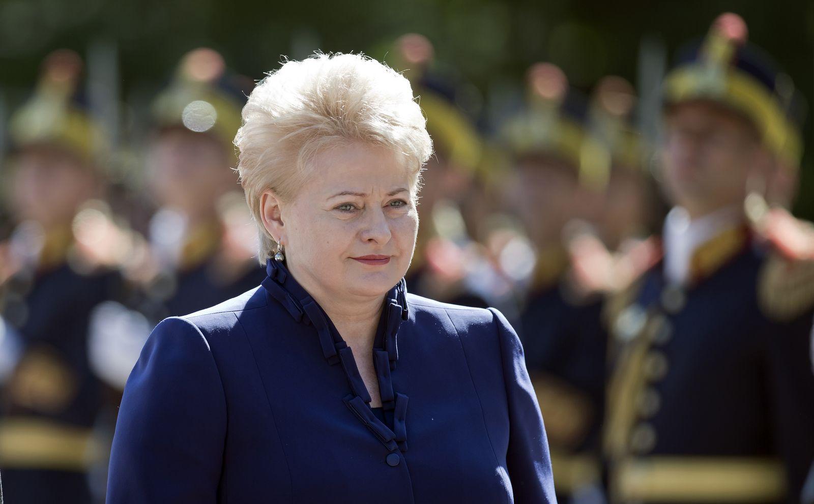 Romania Lithuania Grybauskaite