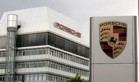 Porsche headquarters in Stuttgart: VW has won the power struggle between the two companies.