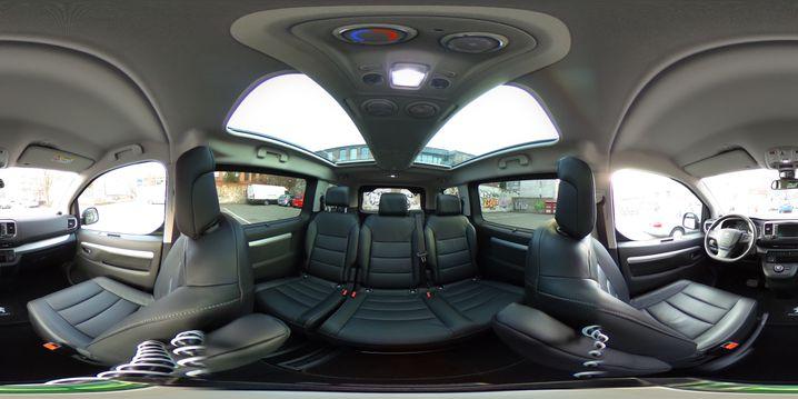 Peugeot Traveller 2017 360 Grad Innen