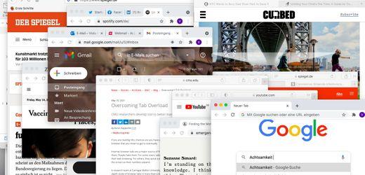 Digitaler Stress: Warum uns Tabs im Browser überfordern