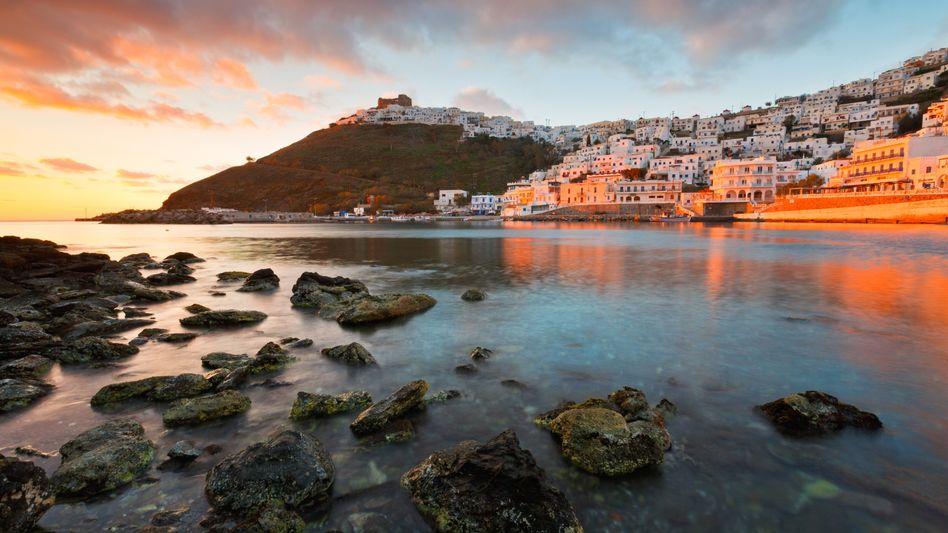 Astypalea in der Ägäis: Nur 117 der rund 6000 griechischen Inseln sind bewohnt. Auf vielen leben weniger als tausend Menschen