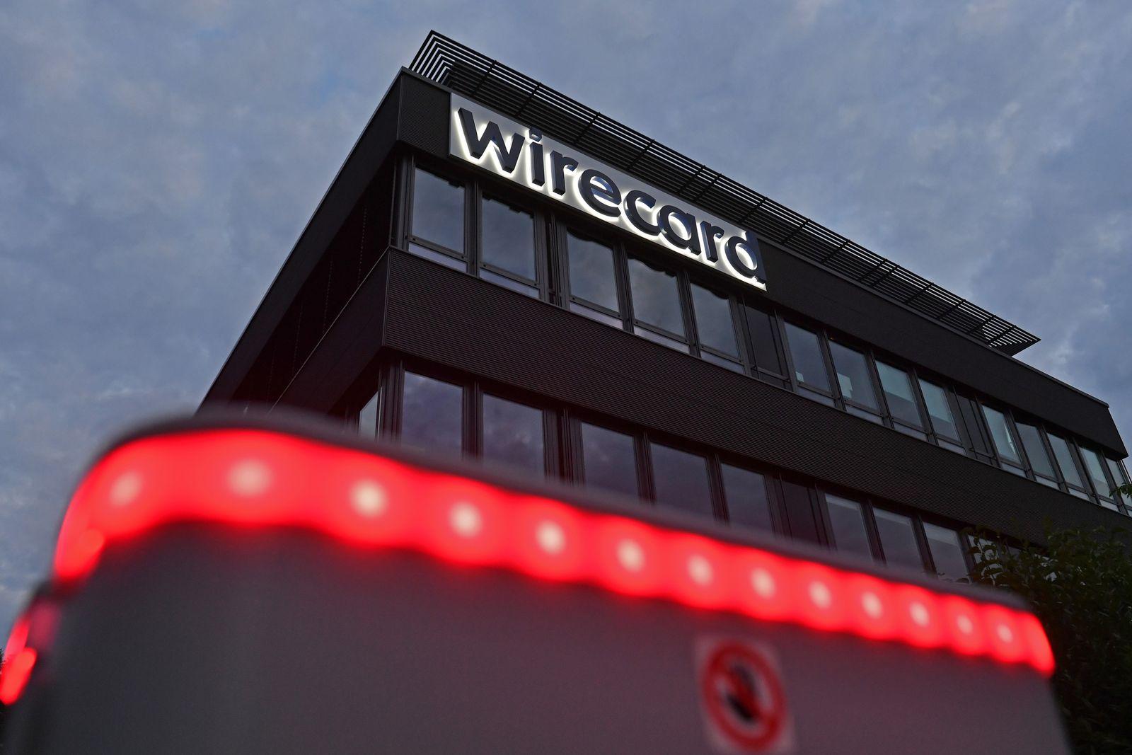 Headquarter wirecard AG in Aschheim Dornach am Abend