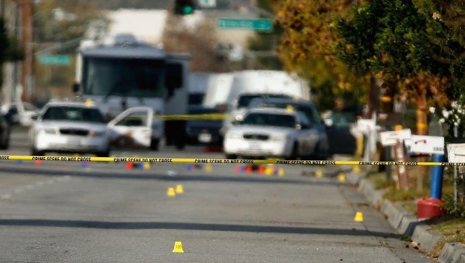 Tatort in San Bernardino: 14 Menschen starben bei einer Schießerei