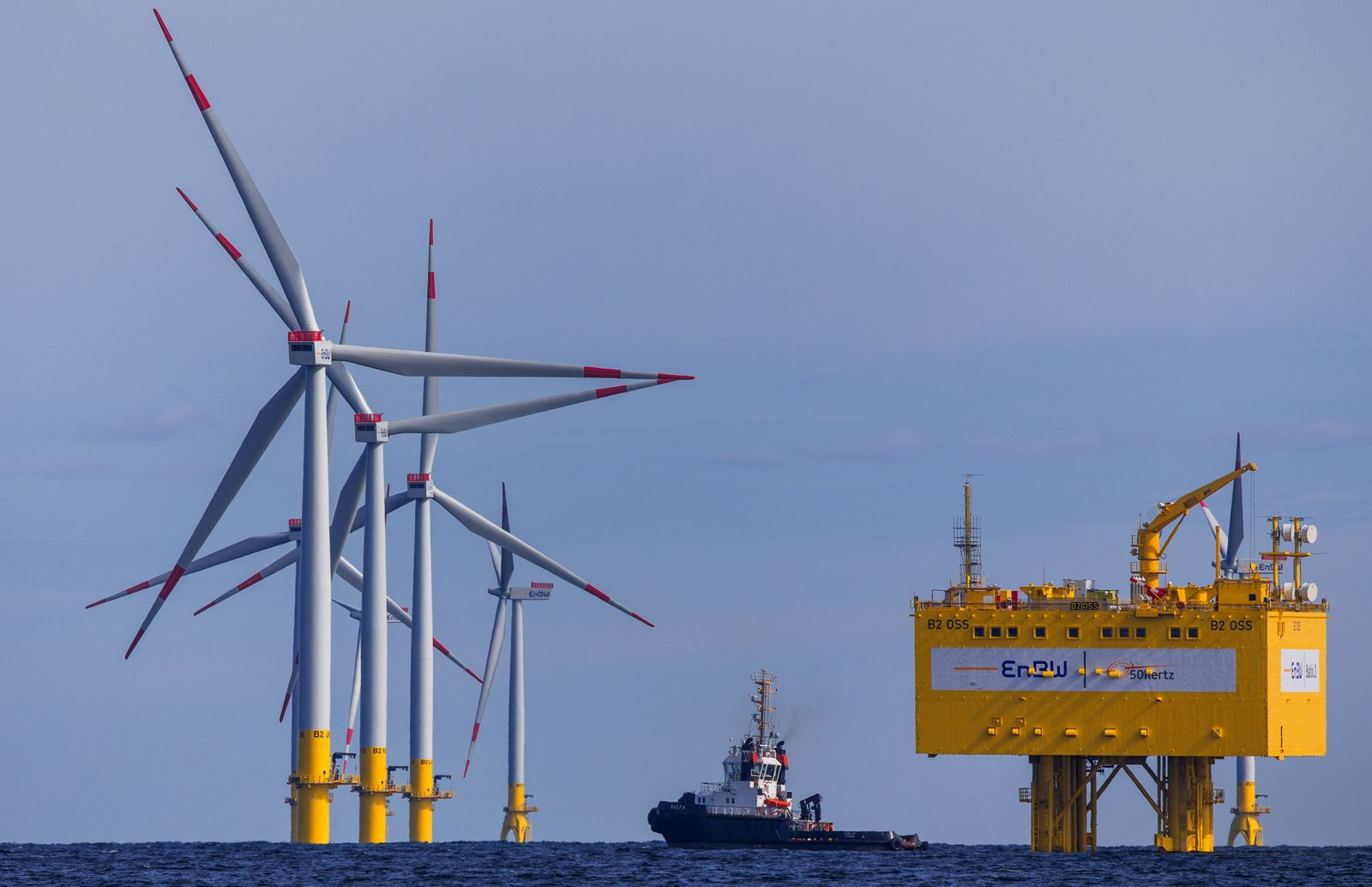 "Offshore-Windpark ""Baltic 2"""