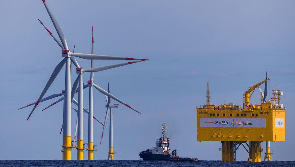 "Offshore-Windparks ""Baltic 2"" vor der Insel Rügen"
