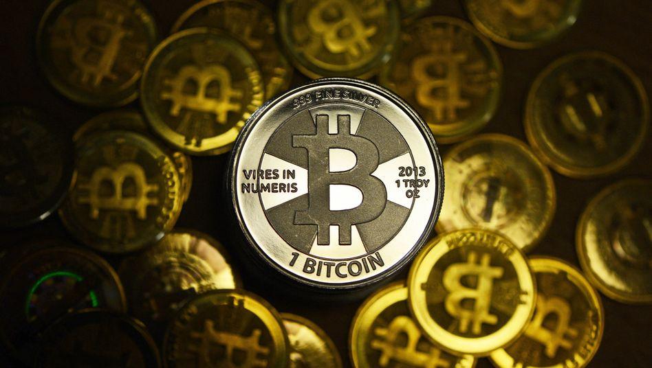 Bitcoin-Münze: Behörden vermuten Geldwäsche bei BitInstant